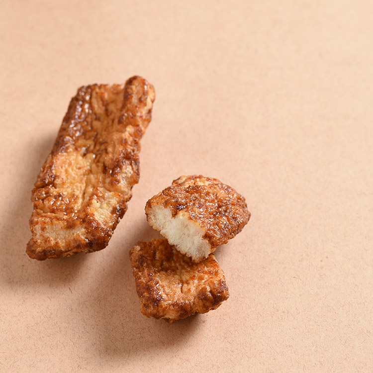 アゲザウルス しょうゆ(揚げ餅)120g
