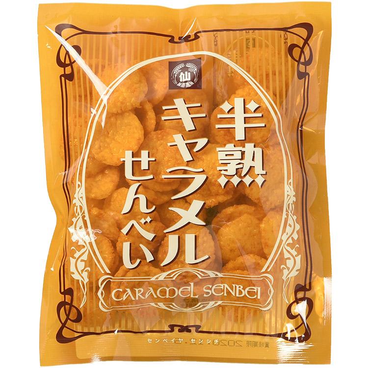 半熟キャラメルせんべい(ぬれ煎餅)70g