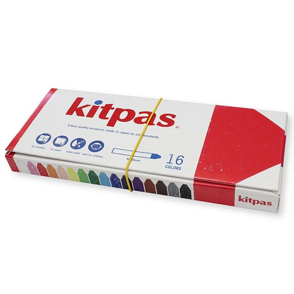kitpas ミディアム 16色