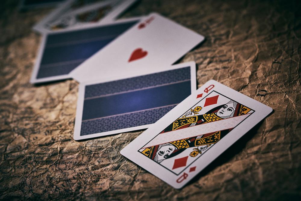 ストレートプレイングカード