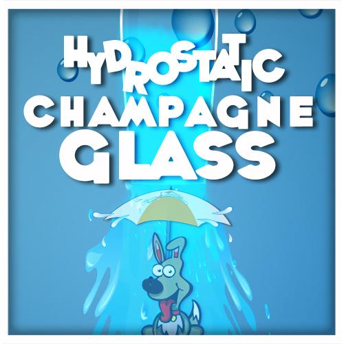 Hydrostatic シャンパングラス by PropDog ※