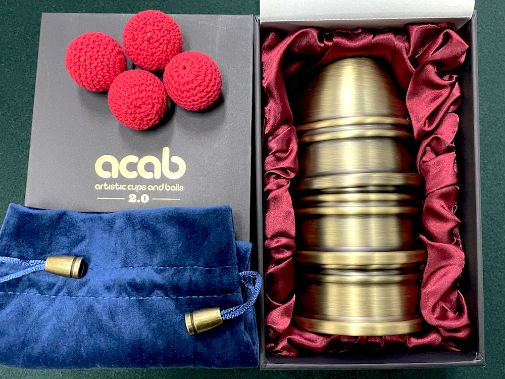 ARTISAN CUPS AND BALLS 2.0 BY TCC