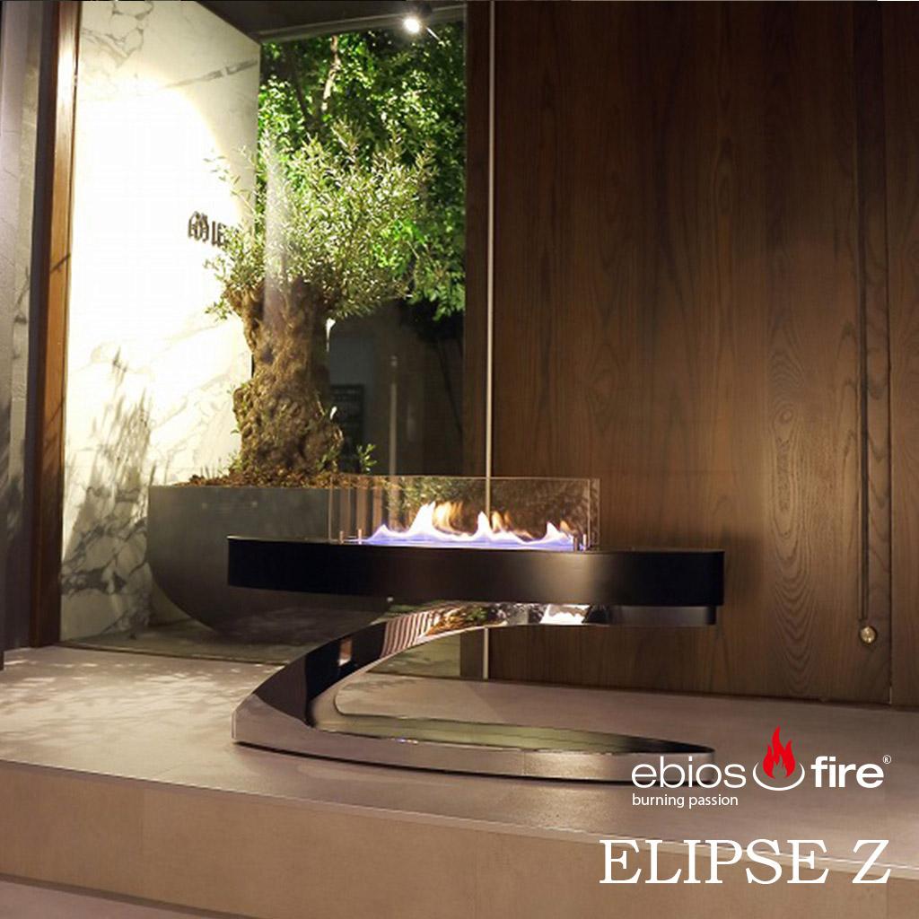 ebios fire エビオスファイヤー ELIPS Z エリプスZ バイオエタノール暖炉 ストーブ 暖房