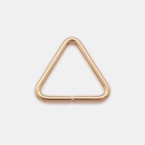 7.6×0.76mm 三角カン(オープン)14KGF ゴールドフィルド  GFRPT-07676 10個