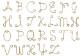 アルファベットチャームA〜Z 26文字 14KGF ゴールドフィルド GFAC