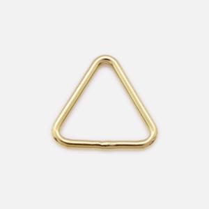 7.6×0.76mm三角カン(クローズ)14KGF ゴールドフィルド  GFRCT-07676 10個