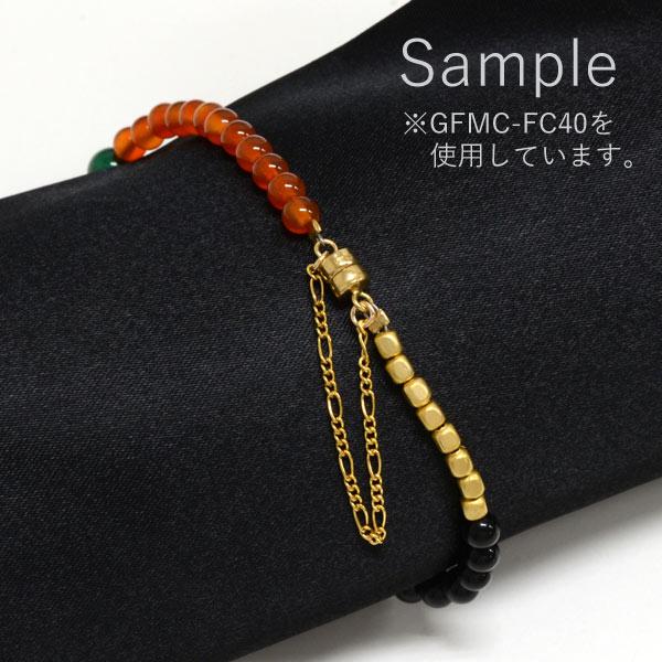 14KGF ゴールドフィルド マグネットセーフティーチェーン GFMC-HAZ30