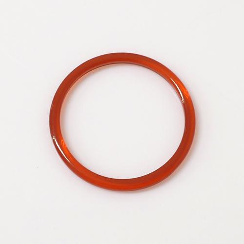 アクリルリング クリアレッド ACR-CLR 7号/9号/11号 幅約1.45mm