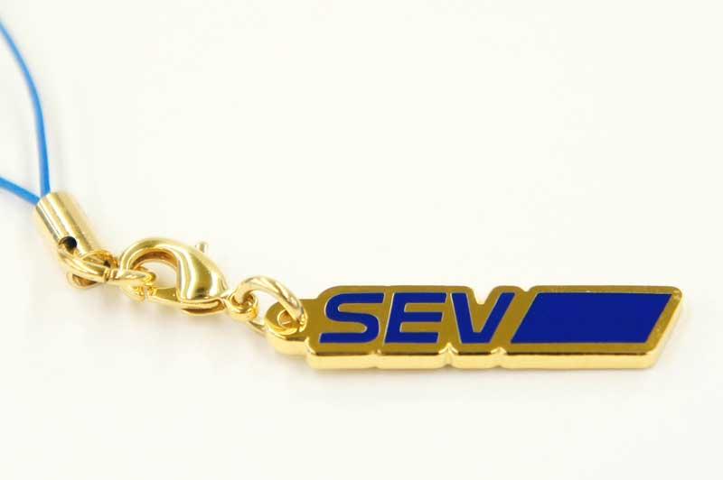 SEV セブロゴストラップ (ゴールド) 【SEV内蔵】