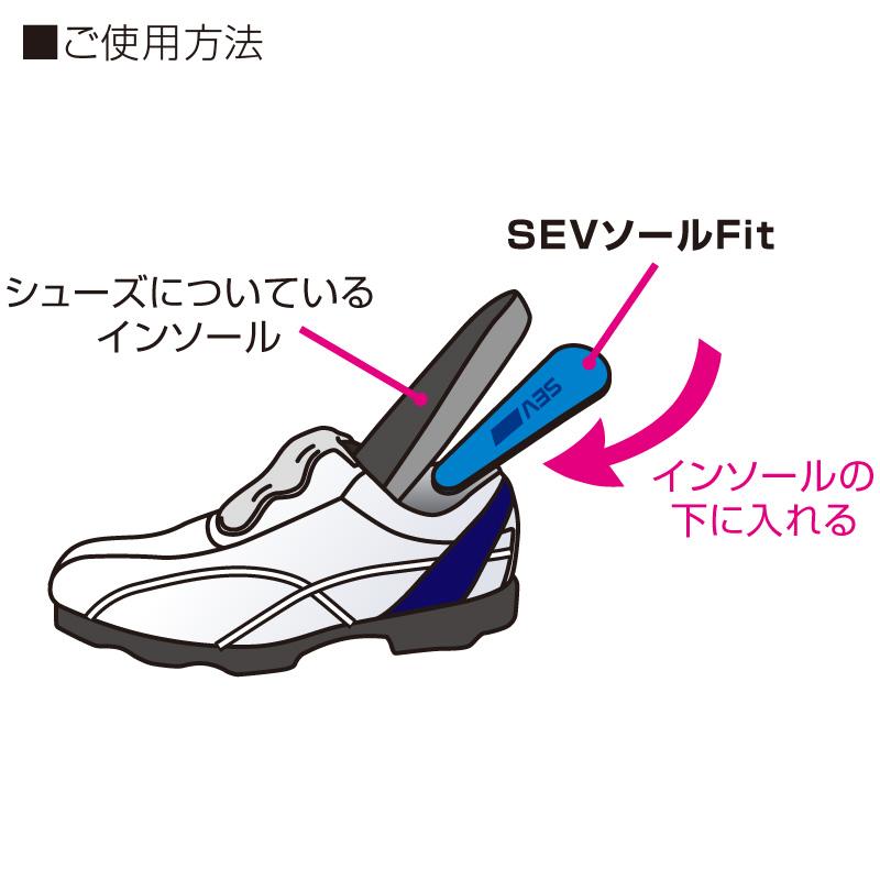 【靴/足用】SEV セブソールFit
