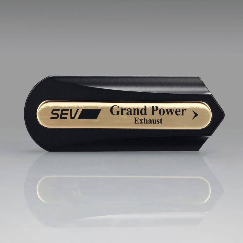 【自動車用】SEV セブグランドパワー エキゾースト【追加用オプションパーツ】