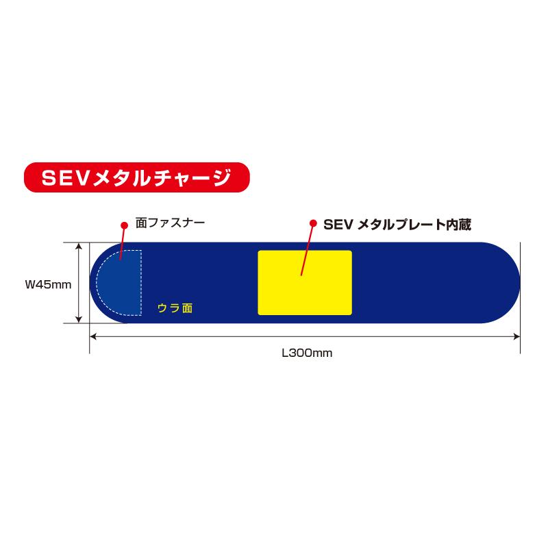 【手首/足首用】SEV セブ HPベルト ライフ
