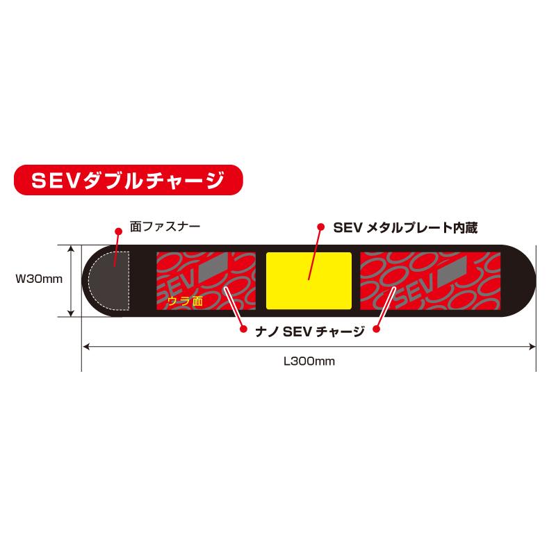 【手首/足首用】SEV セブ HPベルト スポーツ