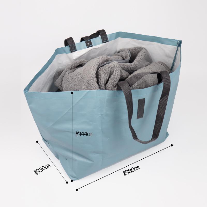 じゃぶじゃぶ水洗いできる大容量のバッグ 着替えをいれたり、濡れたモノをいれたり、レジャーやアウトドアに便利