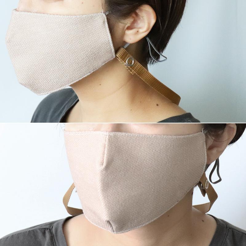 マスク ストラップ 首掛け おしゃれ マスクのつけ外しをカンタンに、スムーズに。使わない時はマスクを首からかける、マスクストラップ 3本セット