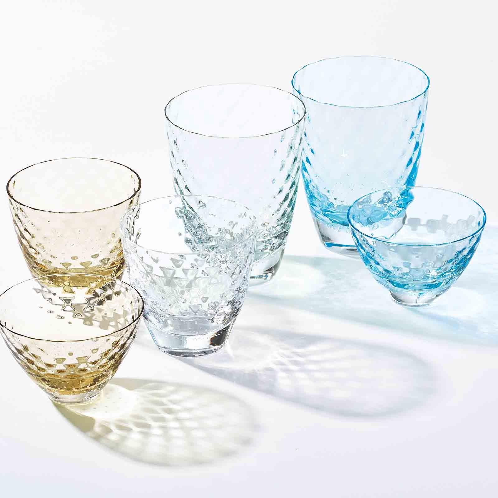 フラクタル:グラス・小鉢