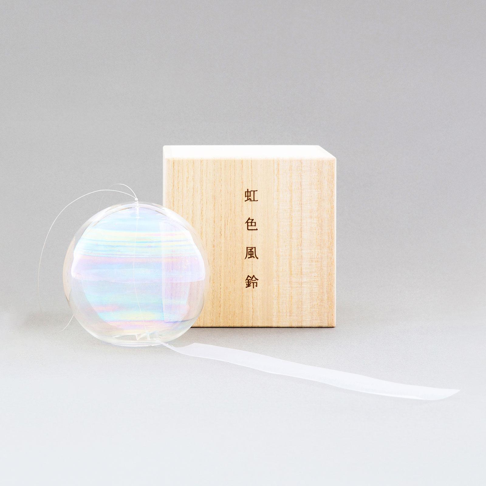 虹色風鈴:(M)+ウッドフレーム セット 2021