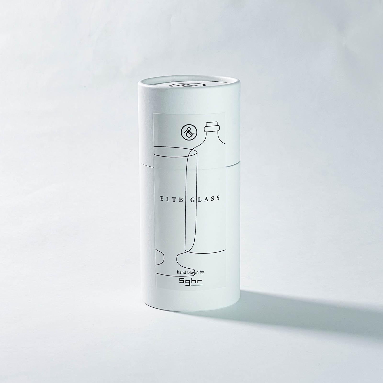 mitosaya × Sghr:蒸留酒 CHOC&APPLE 1本+ELTB GLASS 1客 セット GIFT
