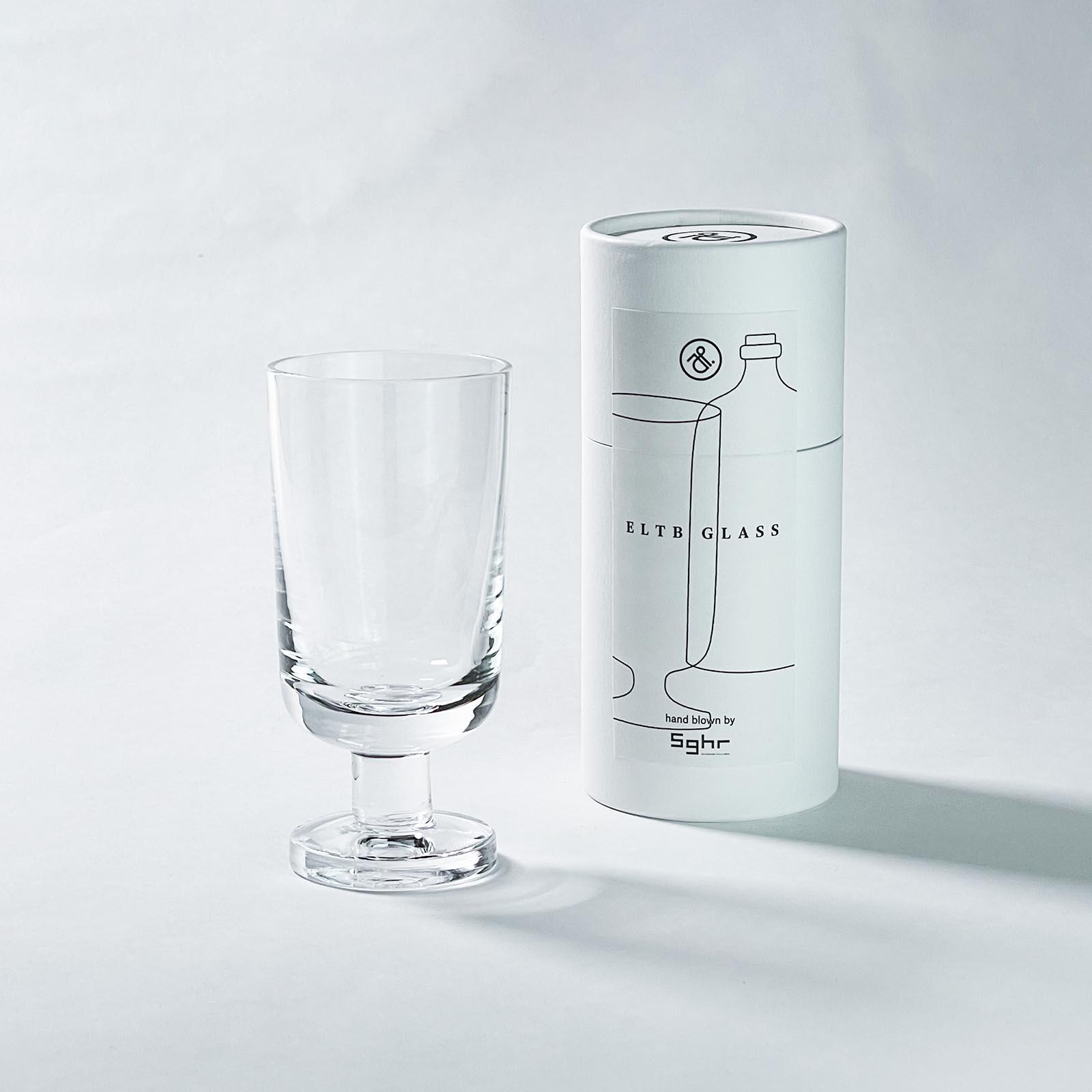 mitosaya × Sghr:蒸留酒 BANCHADOKI 1本+ELTB GLASS 1客 セット GIFT