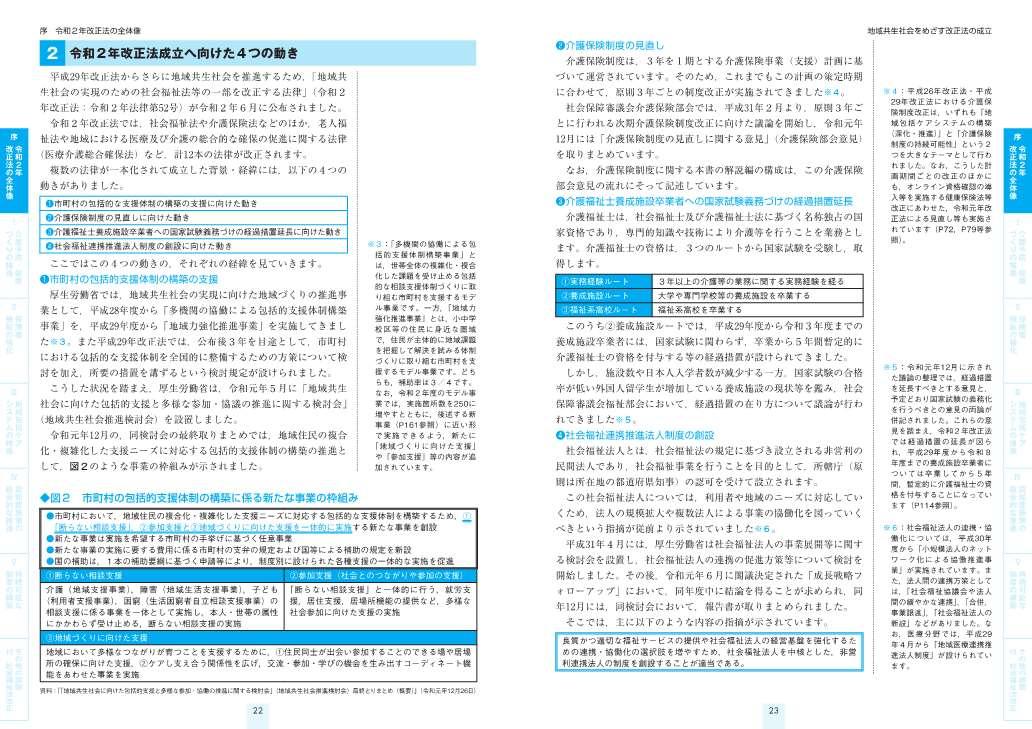 地域共生社会の実現のための 介護保険制度 改正点の解説 令和3年4月版