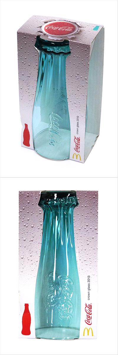 【中古】クラウングラス2013 5色セット マクドナルド×コカ・コーラ 2013年キャンペーン ノベルティ コークグラス