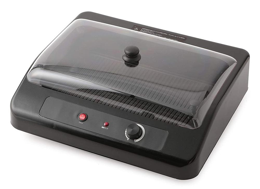 【新品】【送料無料!】AITEC アイテック Qualice スモークレス グリルプレート 卓上無煙グリル ブラック AQS-1051
