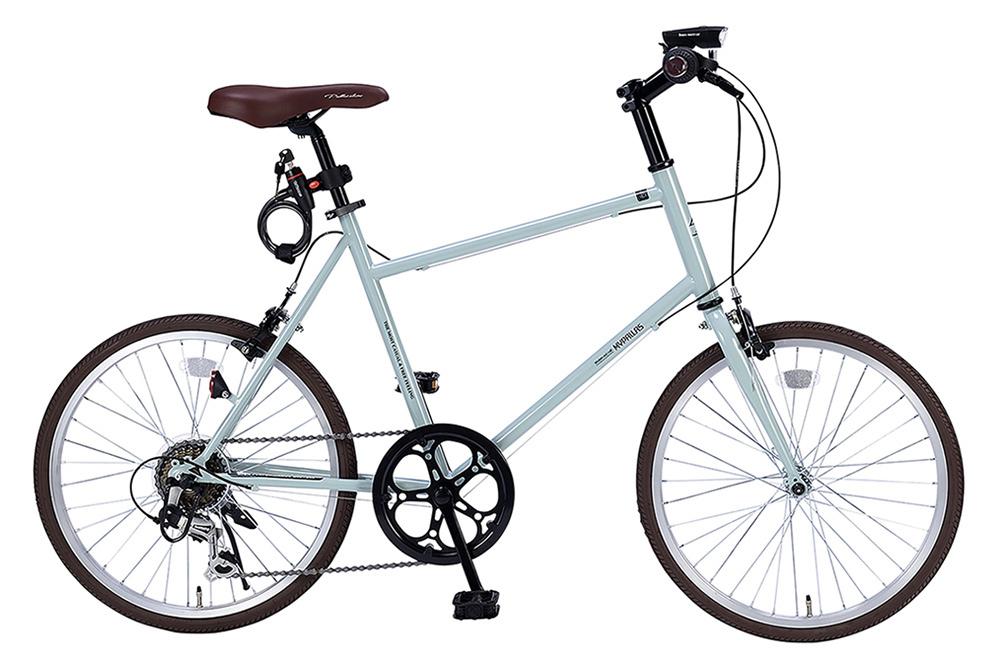 ミニベロ/小径自転車 池商 マイパラス M-706(KH) カーキ 20インチ