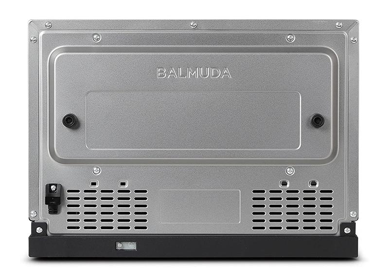【新品】【送料無料!】BALMUDA バルミューダ オーブンレンジ 庫内容量18L フラット庫内 ステンレス K04A-SU