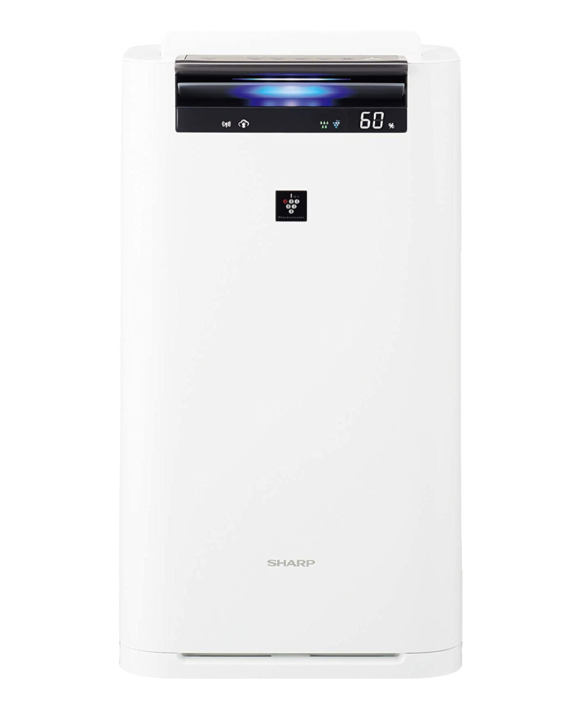 【新品】【送料無料!】SHARP シャープ 加湿空気清浄機 プラズマクラスター25000 空気清浄〜31畳 床置型 ホワイト系 KI-JS70-W