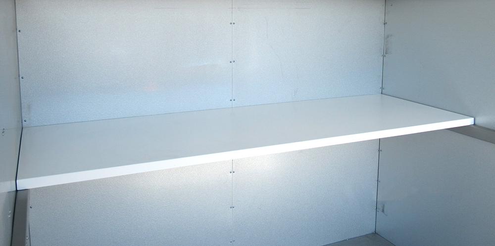 【新品】【送料無料!】写光レンタル販売 シャッター倉庫専用 シャッター物置専用 棚板×1枚【代引き不可】