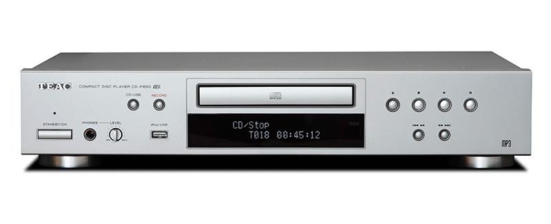 【新品】TEAC ティアック iPod対応 CDプレーヤー シルバー CD-P650-R/S