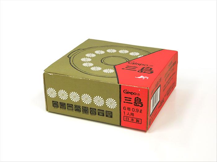 【中古】【未使用品】GINPO 銀峯陶器 四日市萬古焼 土鍋 花三島(Ginpo三島) 6号(0.9L) 一人用サイズ