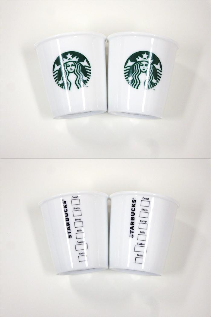 【中古】【未使用品】Starbucks Coffee Japan スターバックスコーヒージャパン デミタス&プレートセット