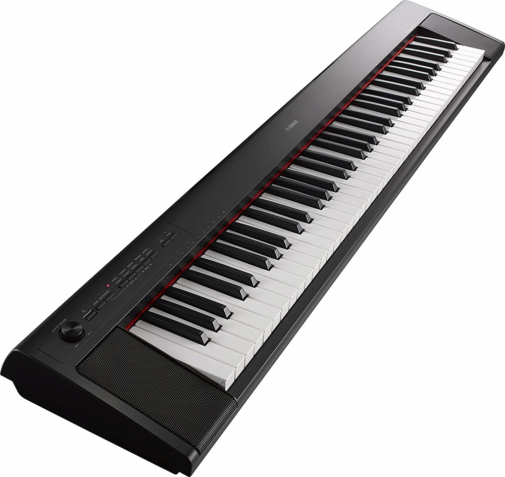 【新品】 YAMAHA/ヤマハ 電子キーボードpiaggero(ピアジェーロ) NP32-B 76鍵盤 ブラック
