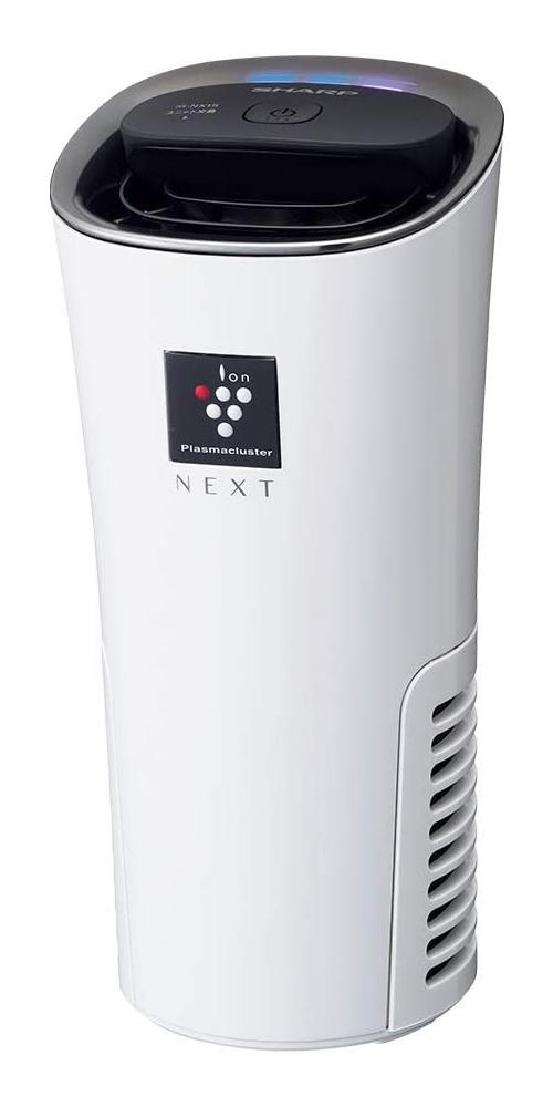 【新品】【送料無料!】SHARP シャープ プラズマクラスターNEXT搭載 イオン発生機 車載用 カップホルダータイプ ホワイト系 IG-NX15-W