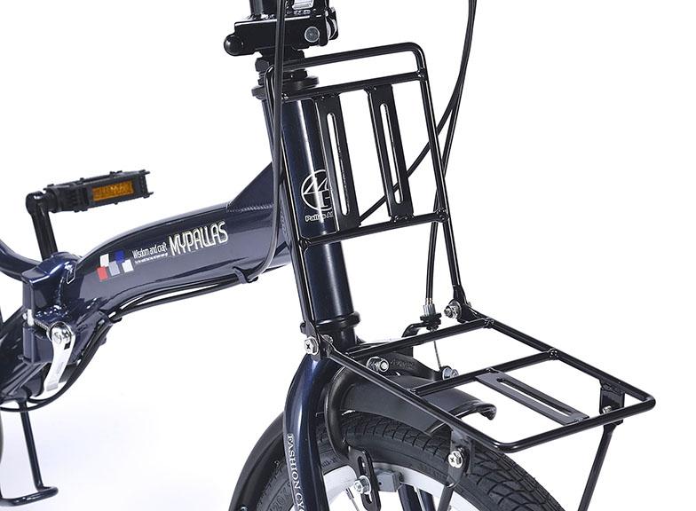 折りたたみ自転車 池商 マイパラス M-209OS2(IV) 20インチ 6段変速 ライト/カギ付き (アイボリー)【新品】【送料無料】【沖縄/離島配送不可】【代引き不可】