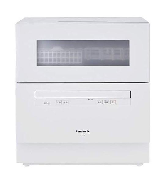 【新品】Panasonic パナソニック 食器洗い乾燥機 庫内容積約50L 食器点数約40点 ホワイト NP-TH3-W