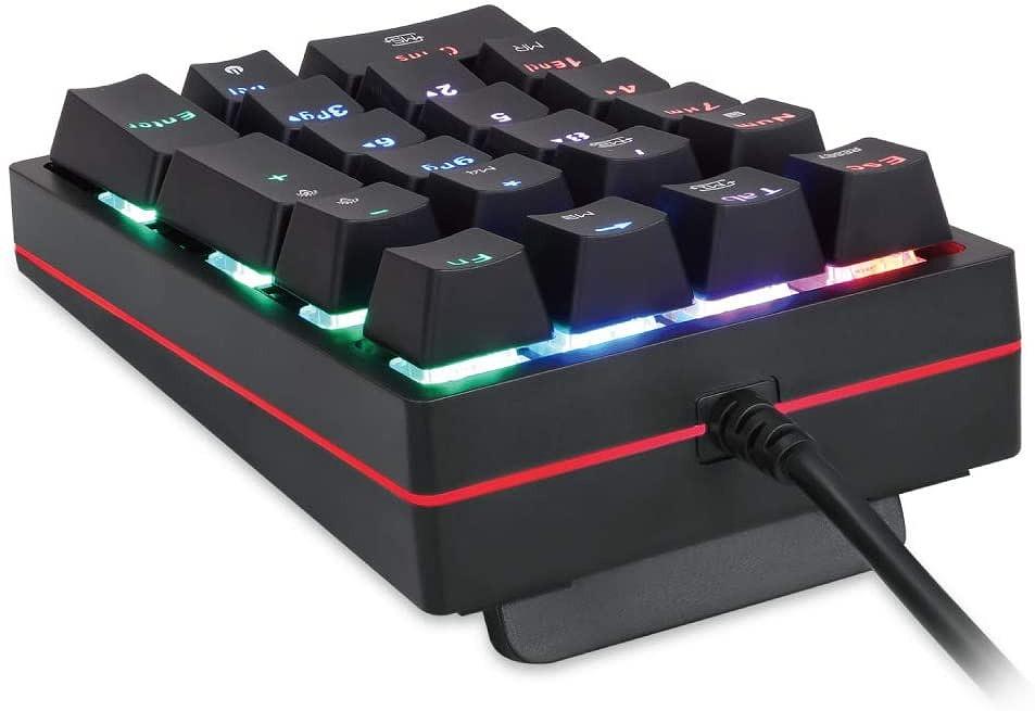 【新品】 AREA/エアリア 片手用ゲーミングキーボード/NUMERIC Keypad AS-K24