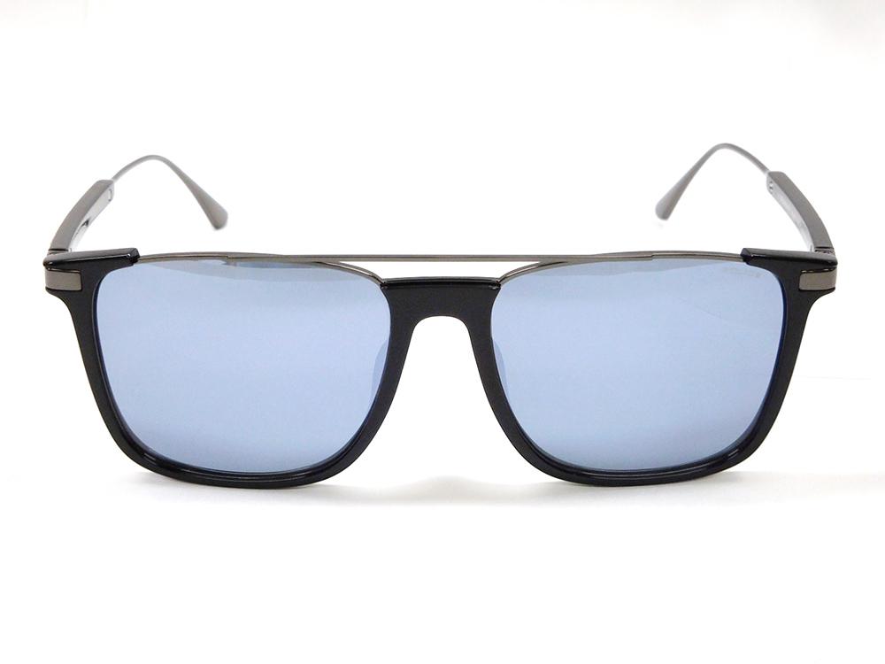 【新品】POLICE ポリス ORIGINS EVO1 サングラス 男性用 SPLA37J 700X ブラック/ガンメタ+ブルー