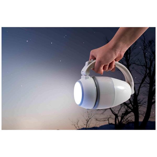 【新品】LITHON ライソン マルチランタン 3WAY LEDライト ホワイト KSLT-001W