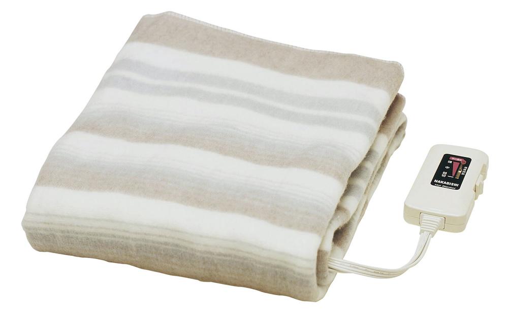 【新品】【送料無料!】SUGIYAMA 椙山紡織 電気敷毛布 ダニ退治機能付き 室温センサー付き 洗える毛布 頭寒足熱配線 日本製 NA-023S