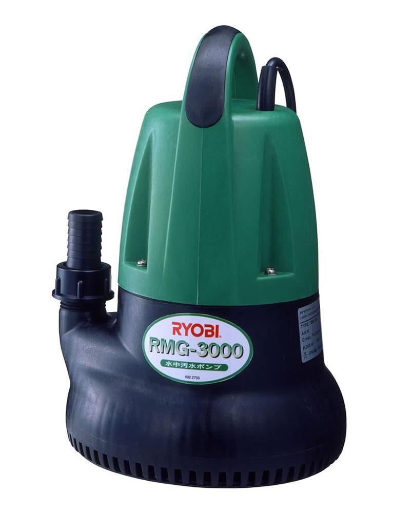 【新品】【送料無料!】RYOBI リョービ 水中汚水ポンプ [ 60Hz ] 西日本地域専用 最大吐出量110L/分 最高全揚程7.0m RMG-3000