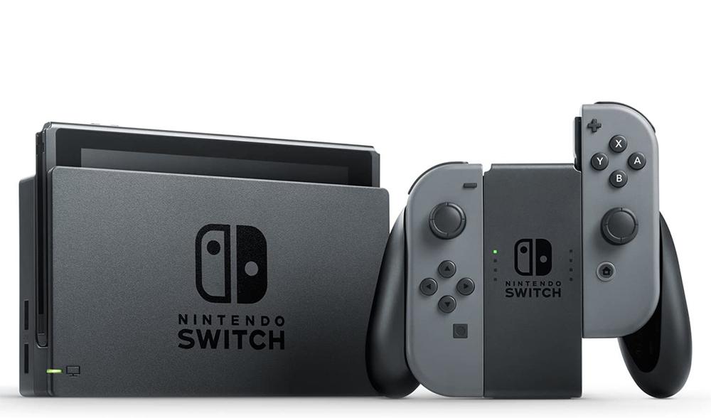 【新品】【送料無料!】Nintendo 任天堂 Nintendo Switch本体 ニンテンドー スイッチ本体 バッテリー持続時間が長くなった新モデル グレー