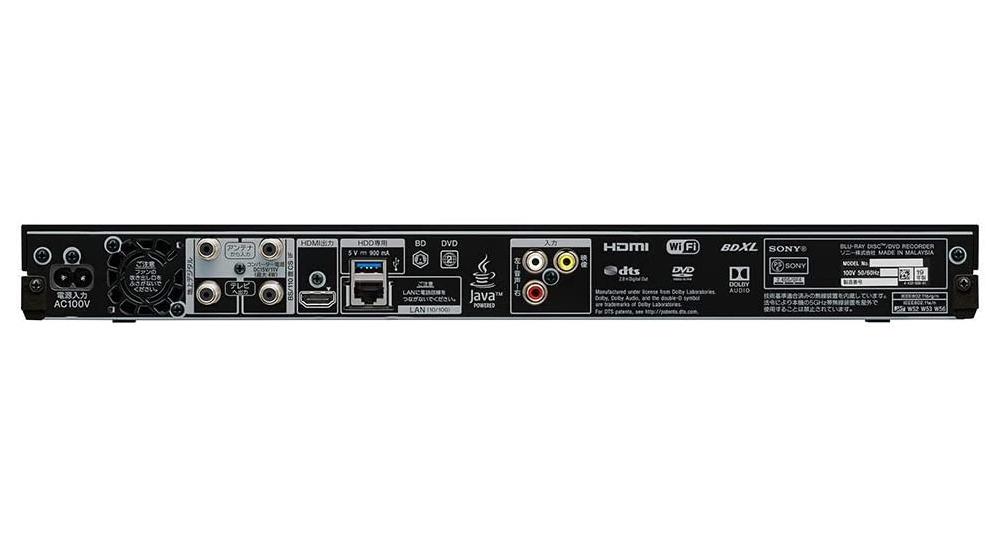 【新品】【送料無料!】SONY ソニー ブルーレイディスクレコーダー 2TB ダブルチューナー BDZ-ZW2700