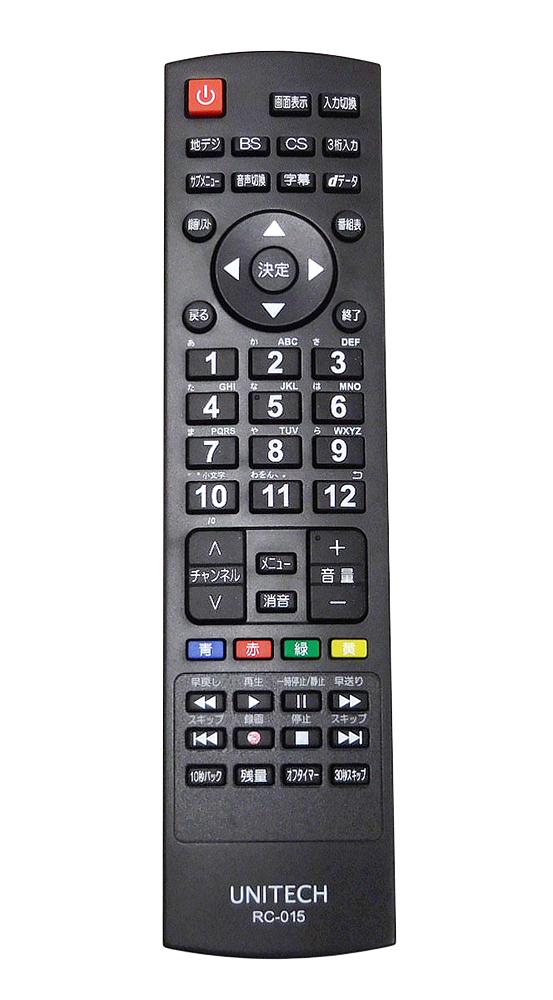 【中古】【送料無料!】【代引き不可】UNITECH ユニテク 43V型 地上/BS/CSデジタル ハイビジョン液晶テレビ 4K対応 Wチューナー搭載 LCK4303S