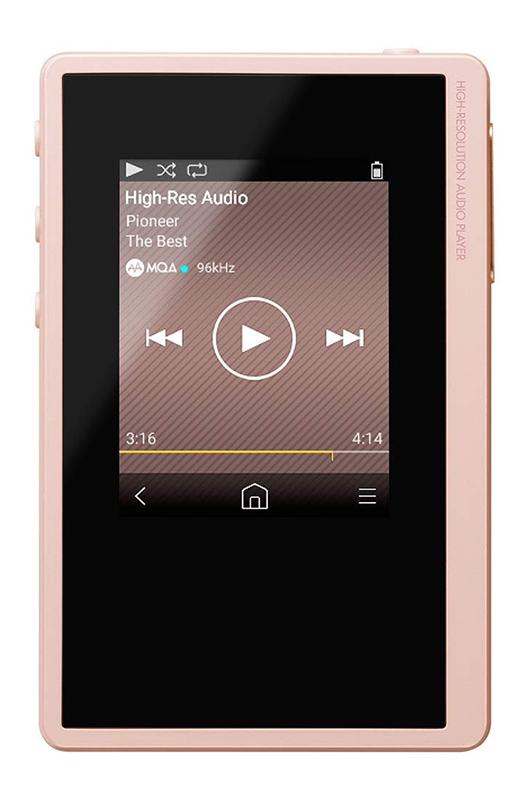 【新品】【送料無料!】Pioneer パイオニア ポータブル デジタルオーディオプレーヤー private ハイレゾ対応 ピンク XDP-20(P)