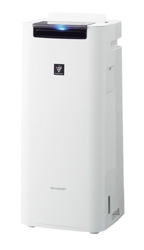【新品】【送料無料!】【代引き不可】SHARP シャープ 加湿空気清浄機 プラズマクラスター25000 おすすめ畳数〜10畳 最大加湿量420mL/h ホワイト系 KI-NS40-W