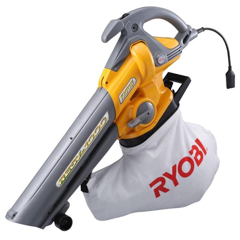 【新品】RYOBI リョービ ブロワバキューム 粉砕機能付き 吹き寄せ&吸い込み RESV-1000
