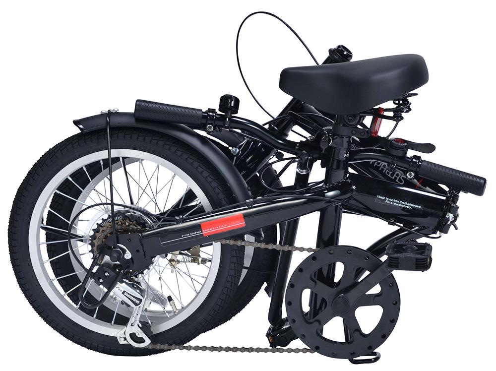 折りたたみ自転車 池商 マイパラス M-103(IV) アイボリー 16インチ