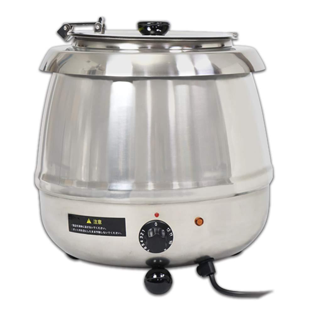 食材が焦げる心配のない湯煎式スープジャー! 【新品】 SIS/エスアイエス 湯煎式スープジャー 9L ダイヤル式 SB-6000S